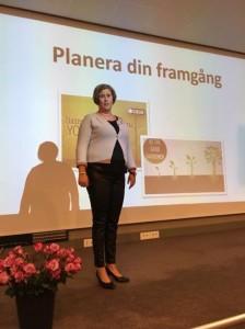 Linda föreläser i Norge