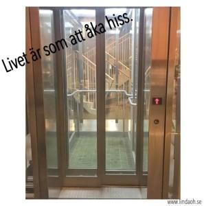 Livet är som att åka hiss